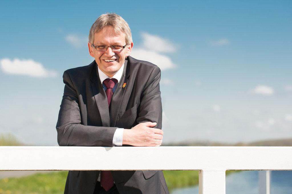 Olaf Meinen- Bürgermeister der Gemeinde Großefehn